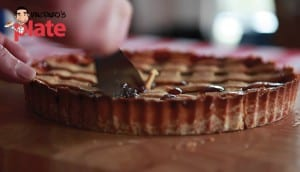 strawberry jam pie recipe