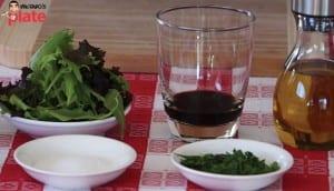 Salad-and-balsamic-vinegar