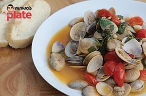 steamed clams recipe