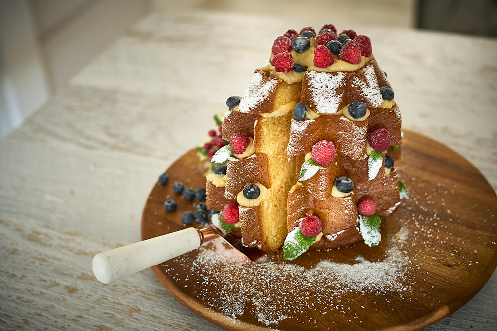 Y Italian Christmas Cake Recipe Pandoro Farcito For Your Next Party