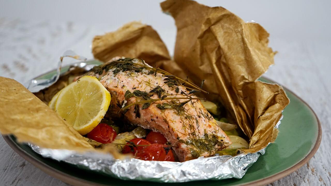 salmon parchment
