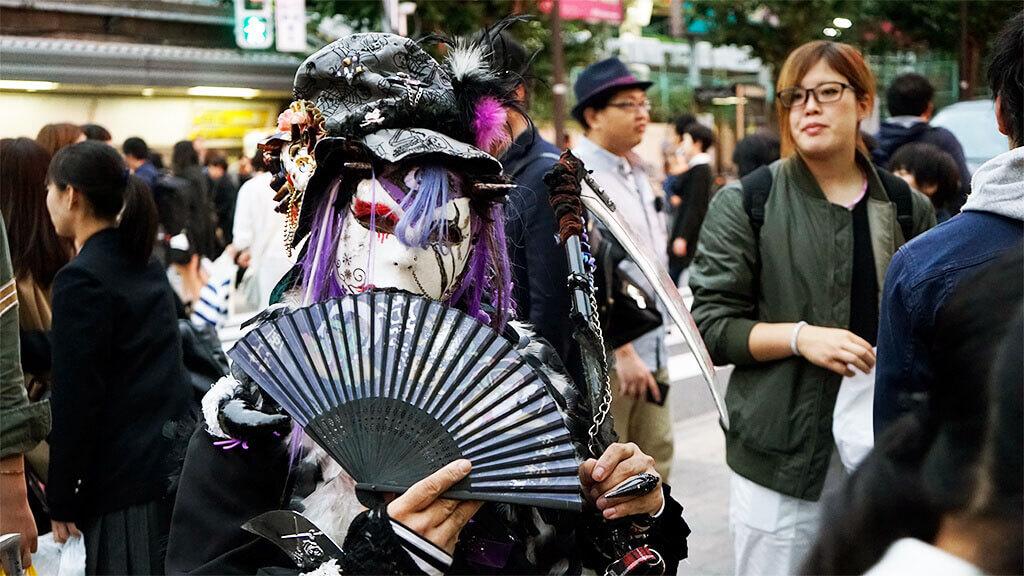 Harajuku trends and crepes