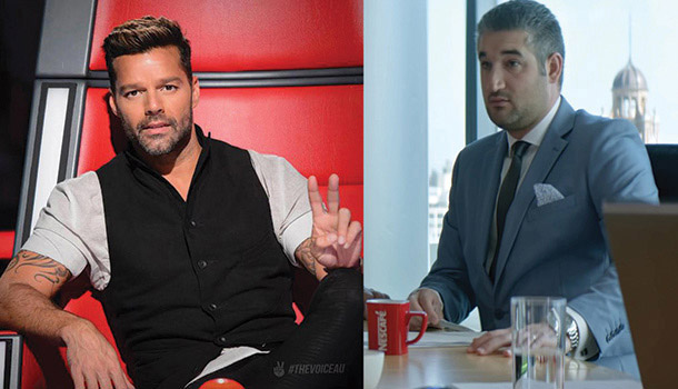 nescafe commercial with singer Ricky Martin