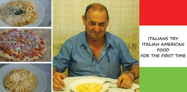 Video archives italians try italian american food for the first time forumfinder Choice Image