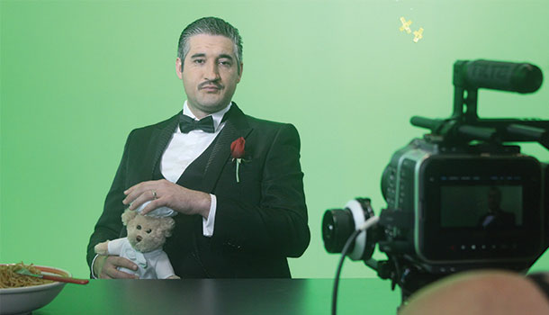 the foodfather shoot