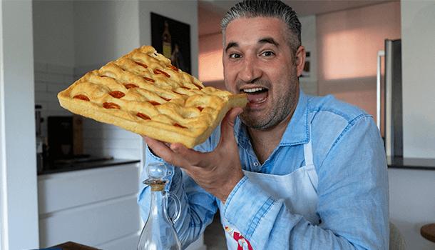 хлеб фокачча