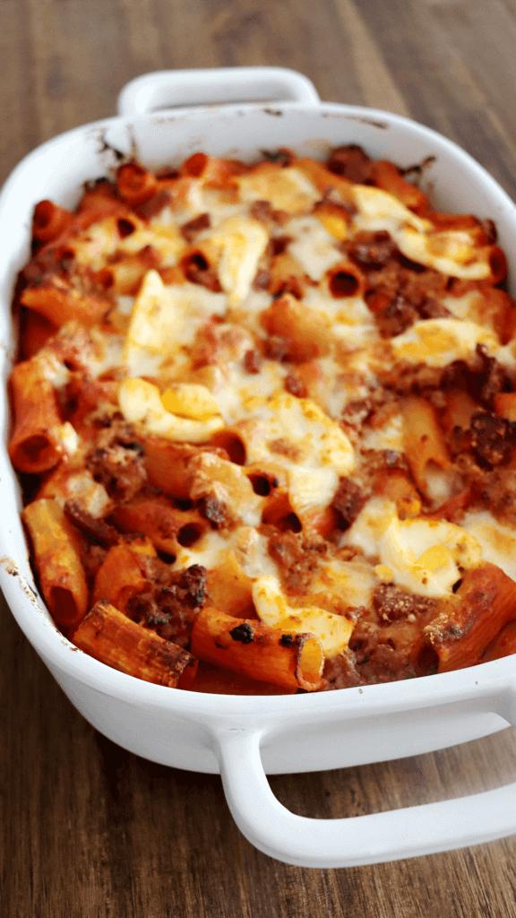 BAKED RIGATONI – Pasta al Forno
