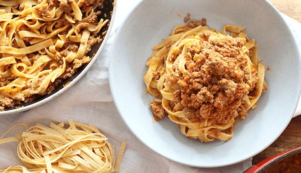 bolognese pasta sauce