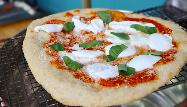 fried pizza margherita recipe
