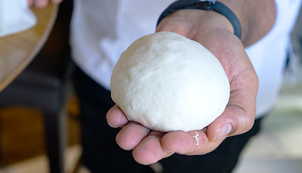 how to make pizza dough ball