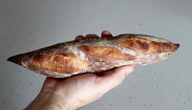 crusty baguette recipe