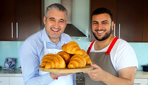 almond croissants time