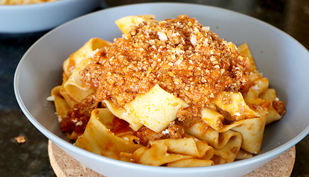 authentic bolognese