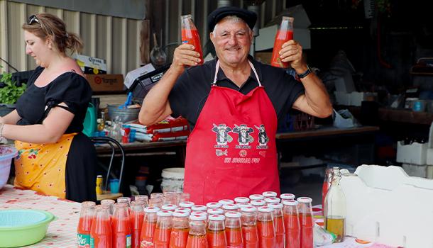 how to make homemade tomato sauce like an italian