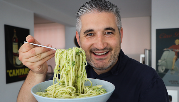 pasta broccoli like an italian