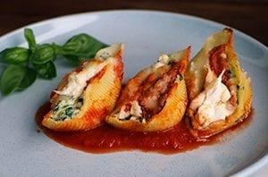 stuffed shell pasta recipe