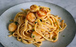scallop pasta recipes