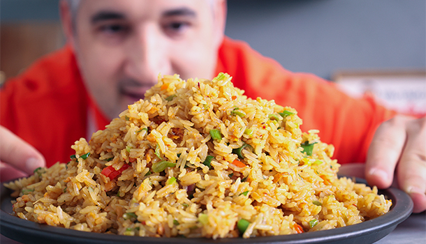 how to make egg fried rice