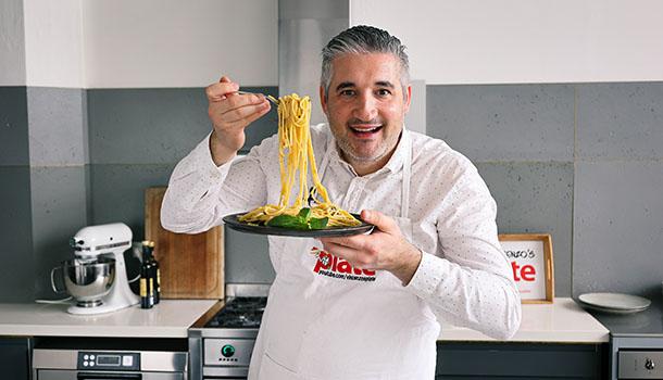 fried zucchini pasta recipe