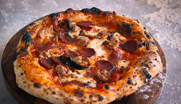 how to make meat lovers pizza