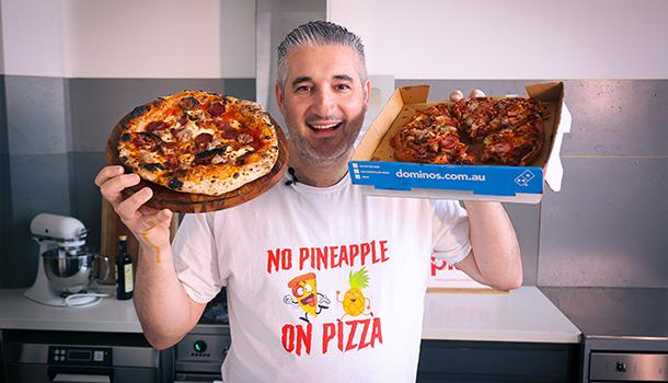domino pizza vs homemade pizza
