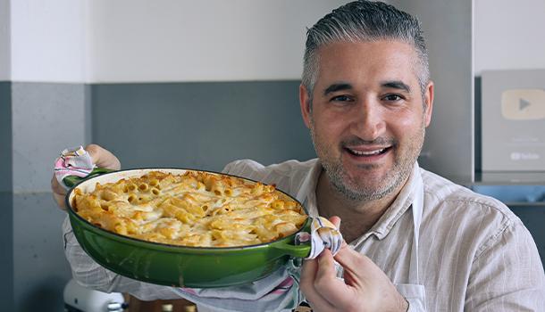 macaroni and cheese vincenzo's plate