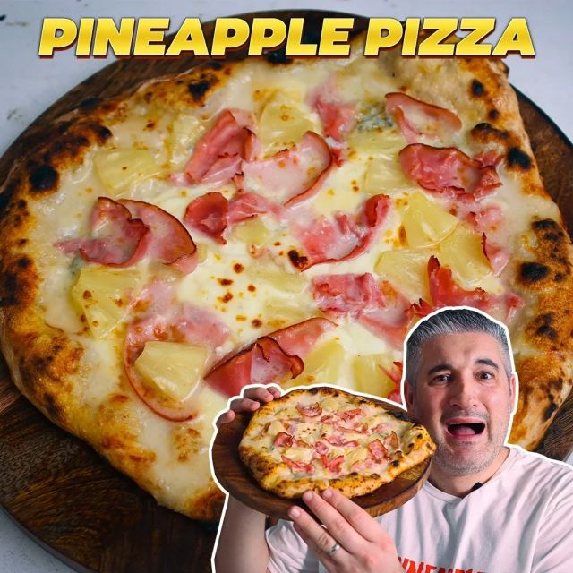 """🔴 New Video on YouTube: PINEAPPLE PIZZA Like an Italian 🍍🍕 I just published this video on #YouTube, and if you've never tried Pineapple Pizza, you'll probably want to do it now!   😋 Recipe: vincenzosplate.com (in the search type """"Pineaplle Pizza"""") - full video recipe also available on Facebook and YouTube . . . #pineapplepizza #pizzahawaiana #hawaiianpizza #pizzaconananas #ananaspizza #pizzarecipe #pineapplepizzarecipe #pineapple #ananas #italianpizza #italianrecipe #vincenzosplate"""