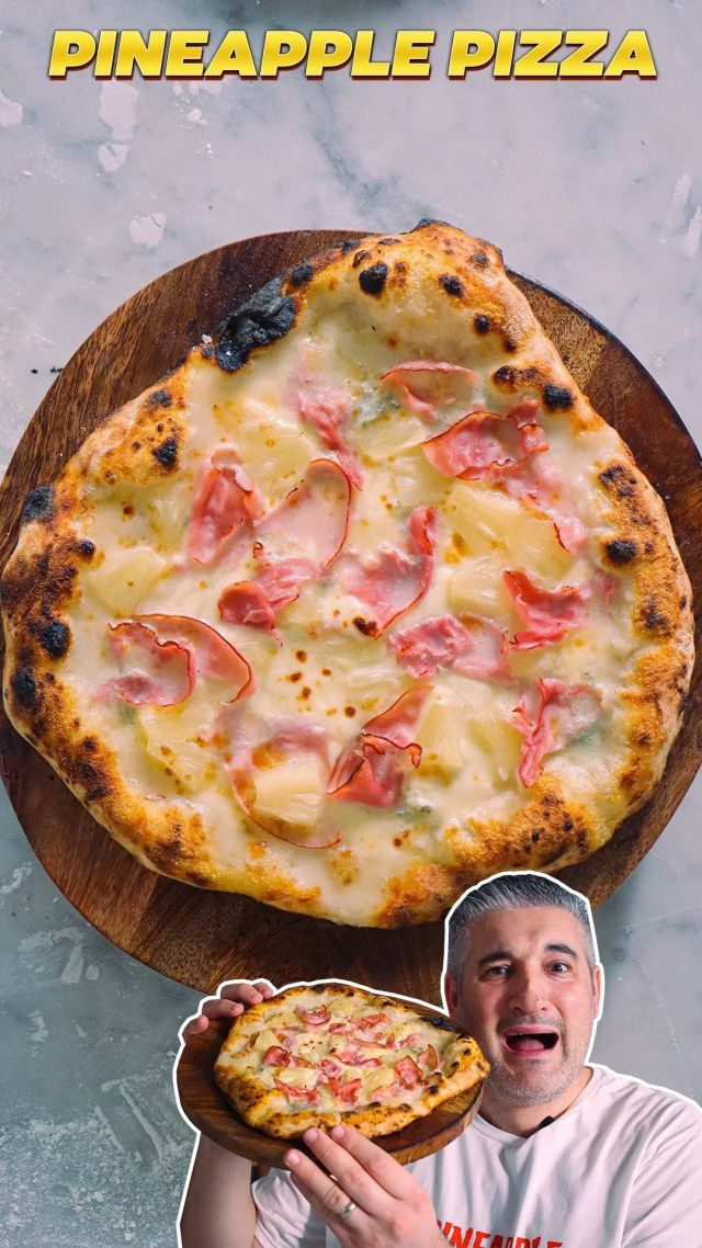How to Make PINEAPPLE PIZZA Like an Italian 🍍🍕. I have made a Pineapple #Pizza recipe using quality Italian ingredients like #gorgonzola cheese! I almost want to be wrong at the end because I still can't believe it but it DID work and with absolutely no tomato on the base. Would you try it?   😋 Get the #recipe -> https://www.vincenzosplate.com/recipe-items/pineapple-pizza-recipe/ . . . #pineapplepizza #pizzahawaiana #hawaiianpizza #pizzaconananas #ananaspizza #pizzarecipe #pineapplepizzarecipe #pineapple #ananas #italianpizza #italianrecipe #vincenzosplate